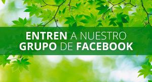 Entren a nuestro grupo de Facebook