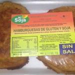 Mi soja - Hamburguesas de gluten y soja