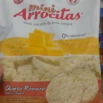 Mini arrocitas - Galletitas gusto queso romano