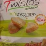 Twistos - Tostadas sabor queso y vegetales